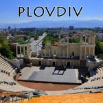 The ancient Roman theatre at Plovdiv