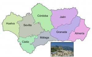 Provinces of Andalusia