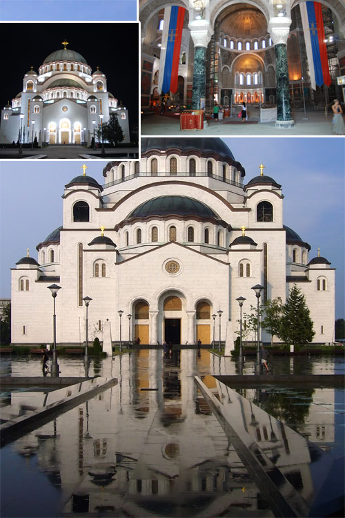 St Sava Church Serbia