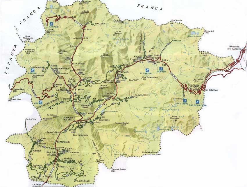 Map of andorra sciox Choice Image