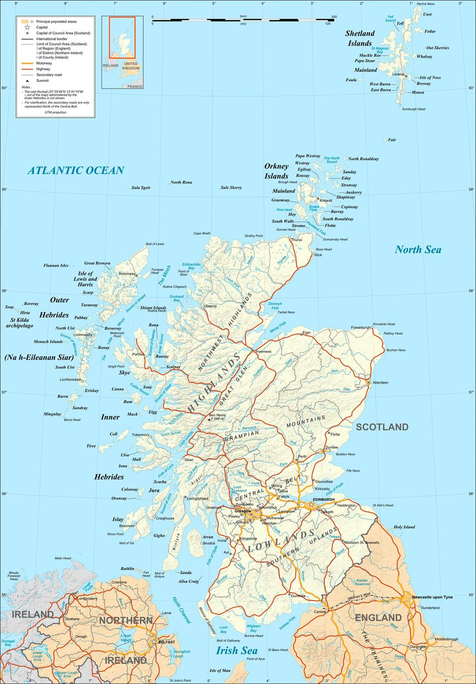Map of scotland gumiabroncs Image collections