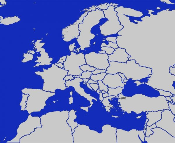 Map Of Europe Europe Map Geography History Travel Tips And Fun - Europe blank map
