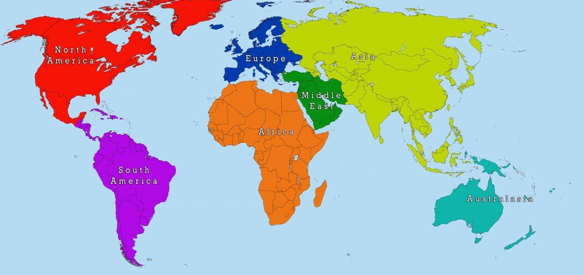 A simple World Map