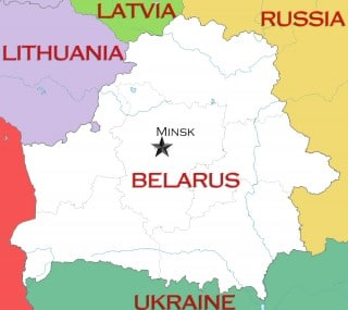 Proximity of Belarus to Russia