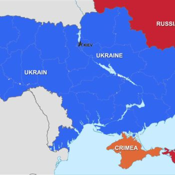 Ukraine, Crimea and Russia how close are they?