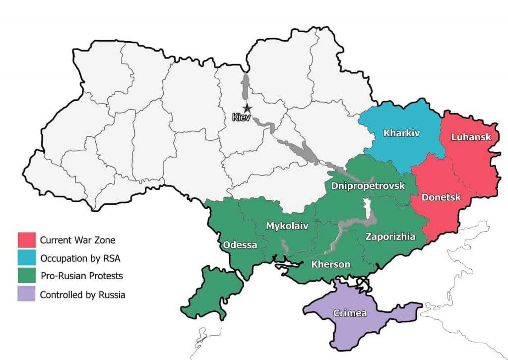 Ukraine War Map
