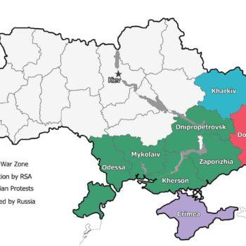 Ukraine War Map