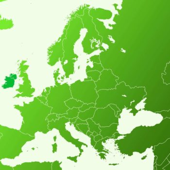 How do the Irish see the Map of Europe?