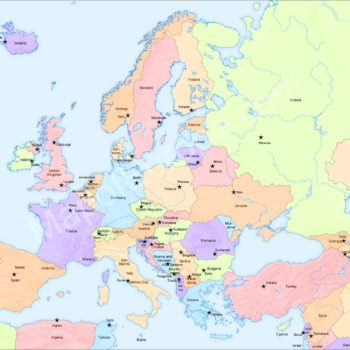 Europe Map – Geography, History, Travel Tips and Fun