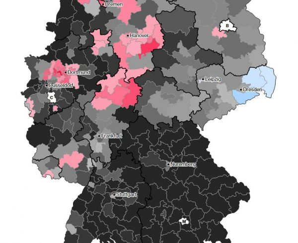 German Election Map 2017
