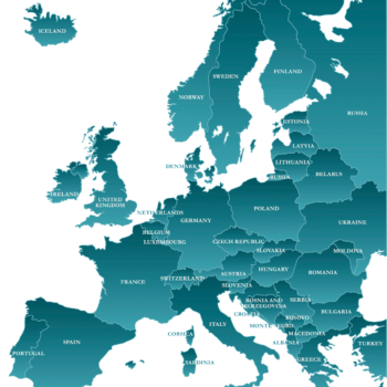Interactive Map of Europe
