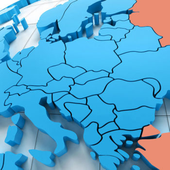 What are the Transcontinental Countries of Europe and Asia?